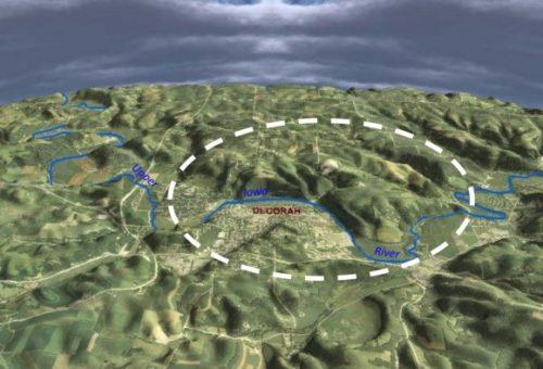 Гигантский древний кратер подтвержден в Айове