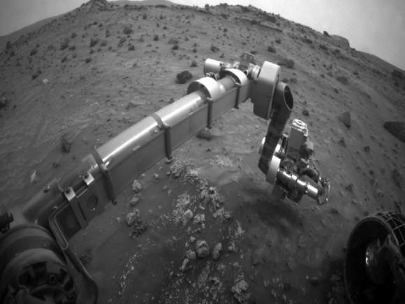 Инженерные микробы могут помочь построить базу на Марсе