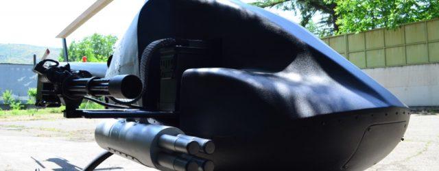 Смартфоны для управления беспилотным вертолетом на поле битвы