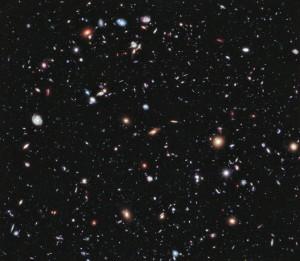 Изображения собранные Хабблом использовались чтобы собрать самый дальний вид Вселенной