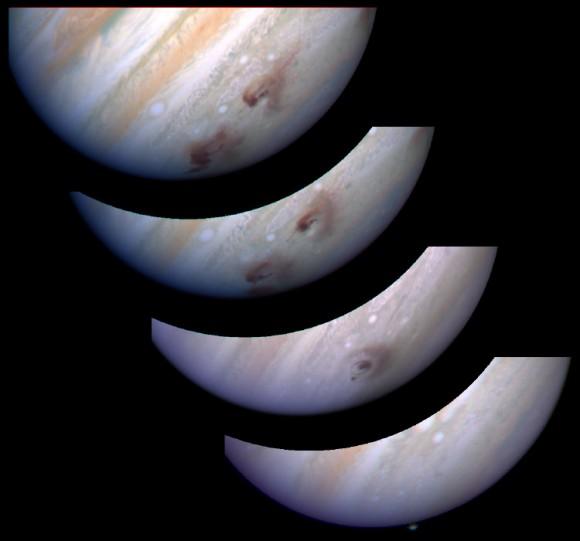 Гершель связывает воду Юпитера с воздействием кометы