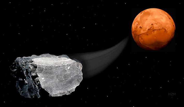 Изучение метеоритов может выявить тайны жизни Марса