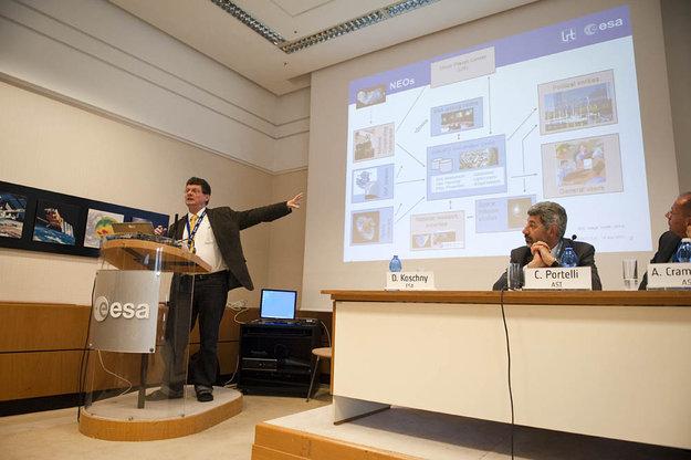 Наблюдение за опасностями: ESA открывает центр астероидов