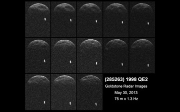 NASA объявляет грандиозный вызов астероидам