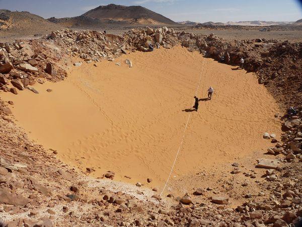 Ученые охотятся за кратерами в Персии