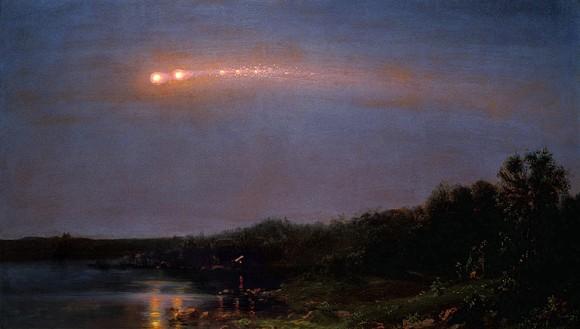 Вспоминая великое метеорное шествие 1860 года
