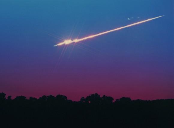Что такое метеоритный дождь?