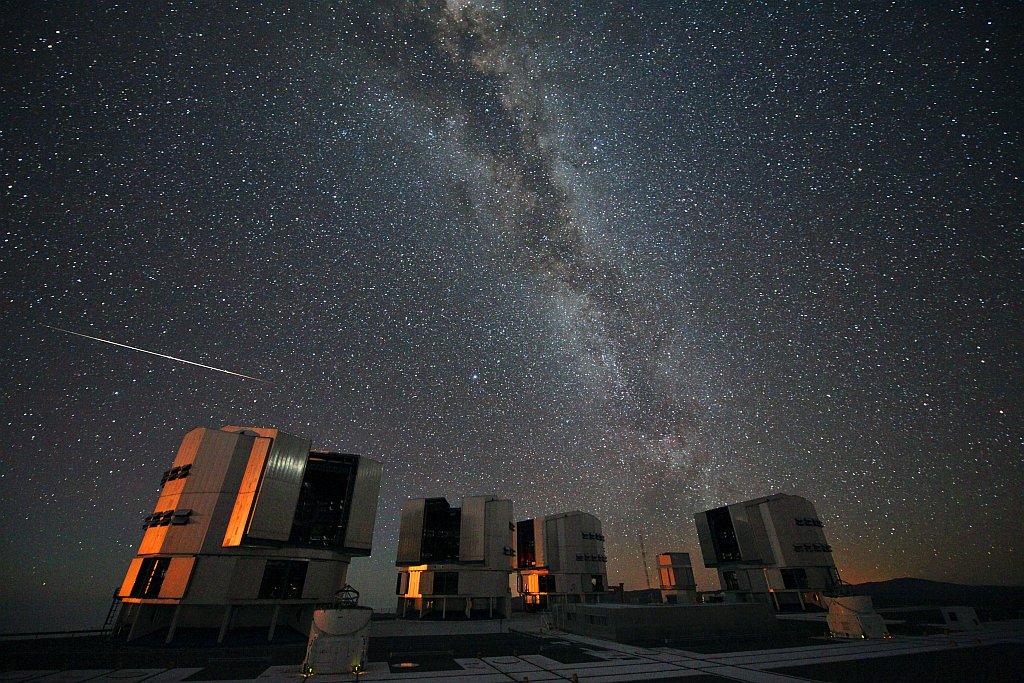 Персеидные метеоры осветят летнее небо