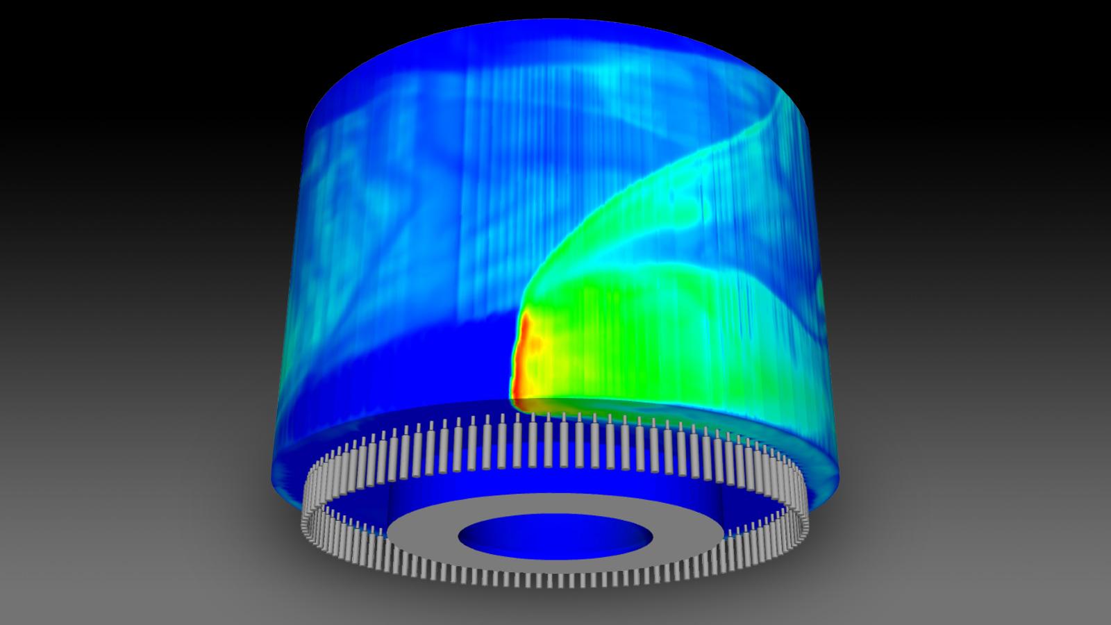 Новая расчетная модель Argonne для ускорения развития двигателя для гиперзвукового полета следующего поколения