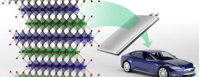 Новый класс безкобальтовых катодов может повысить плотность энергии литий-ионных батарей следующего поколения
